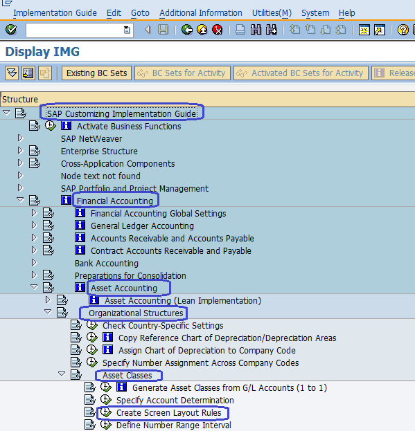 Asset Accounting Configuration Steps in SAP | Asset