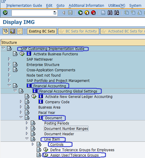 Steps for Financial Accounting Global Settings Configuration SAP FICO