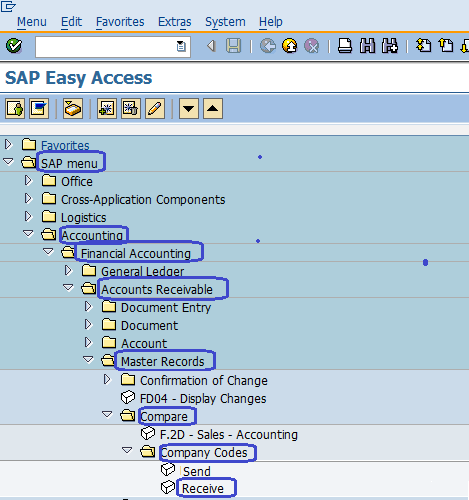 Transfer Customer Master Data from Source Company code