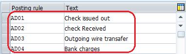 SAP Electronic Bank Statement Configuration Steps