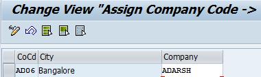 Assigncompanycode