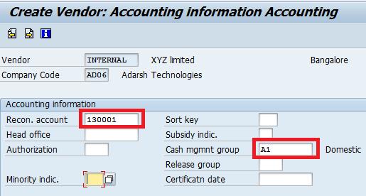 How to Create Vendor Master Data - SAP Training Tutorials