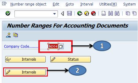 Define Document Number Ranges in SAP - SAP Training Tutorials