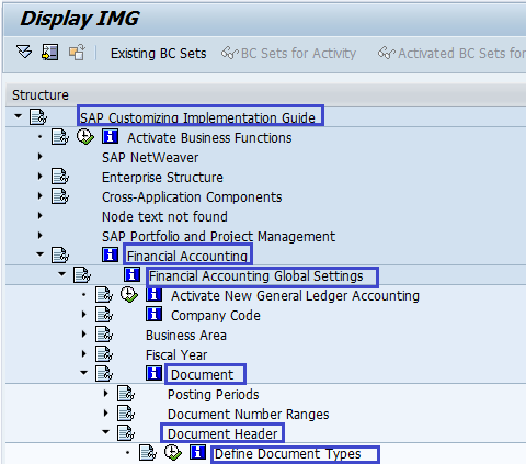 How to define Document Types in SAP Fico | Document Types