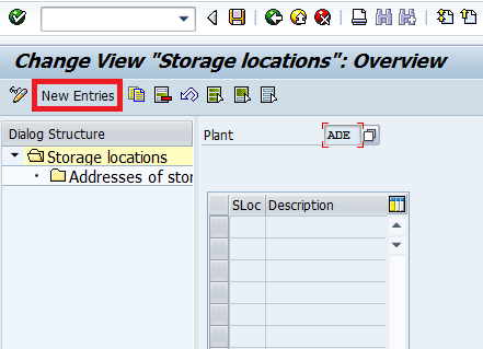 How To Create Storage Location In Sap Mm Sap Training