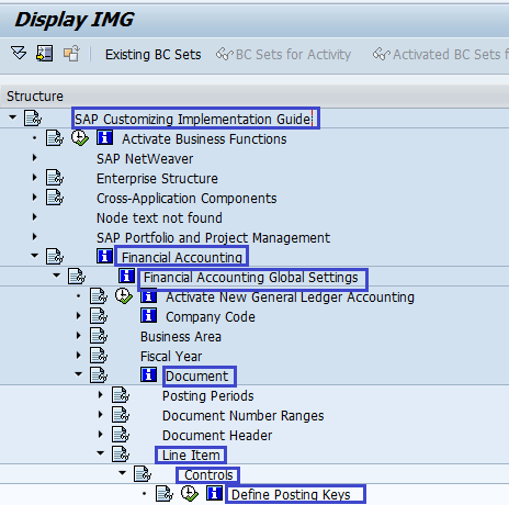 Define Posting Keys in SAP FICO | Account type SAP - SAP