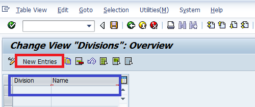 How to Create Division in SAP