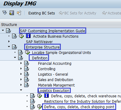 How to Define Shipping Point in SAP | Create Shipping Point
