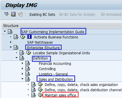 sap sales and distribution How to Maintain Sales Office in SAP SD | Sales office SAP - SAP ...