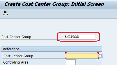 COST CENTER GROUP