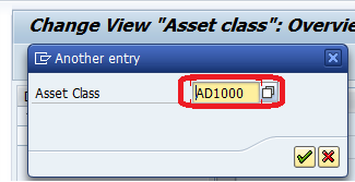 Determine Depreciation area in the Asset Class SAP