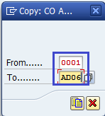 Maintain Number Ranges for Controlling Documents   CO Areas