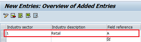 How to Create Industry sectors in SAP