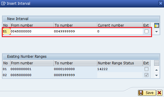 Define number ranges for sales document types in SAP - SAP
