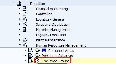 Define Employee Group Path
