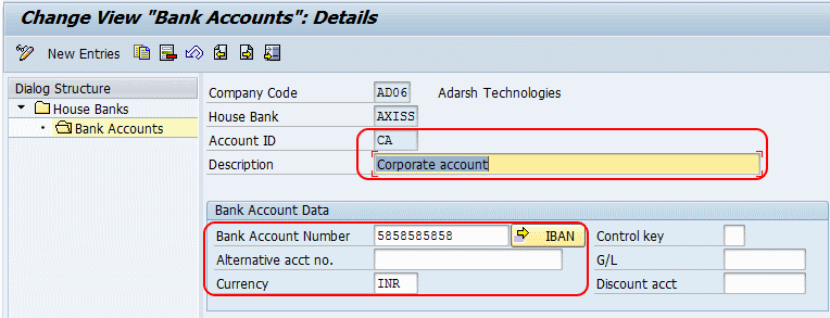 Define House Bank In Sap House Banks Overview