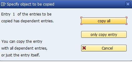 document types copy all entries