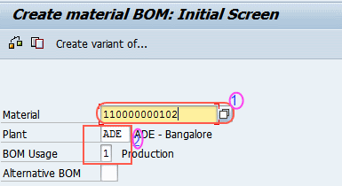 How to Create Bills of Material (BOM) in SAP - SAP Training