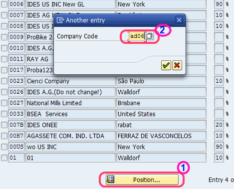 maximum exchange rate difference per company code