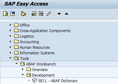 How to create database table in SAP ABAP - SAP Training