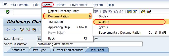 document change