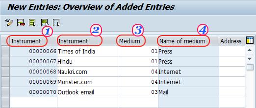 Create Recruitment Instruments in SAP