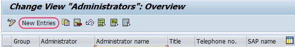 Create personnel Officer in SAP new entries