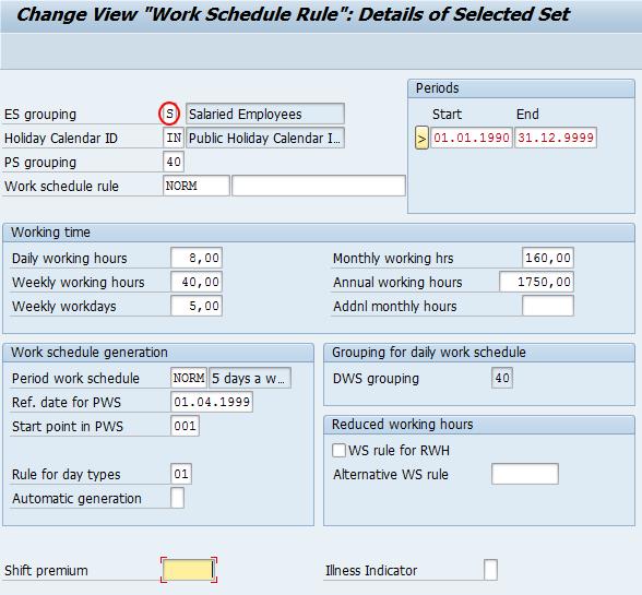 Define Work Schedule Rules and Work Schedules