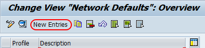network defaults overview