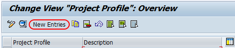 profile overview screen