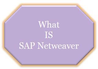 What is SAP Netweaver.