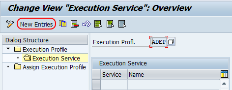 execution services overview