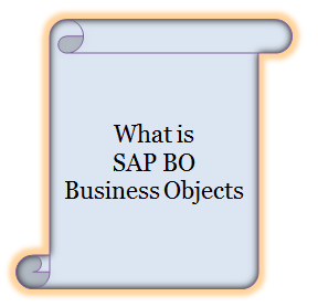 what is SAP BO Business Objects