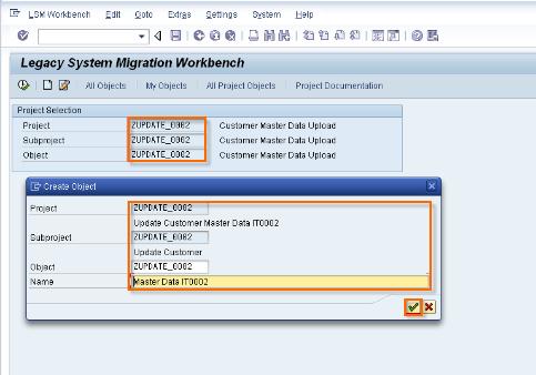 LSMW  legacy system migration workbench