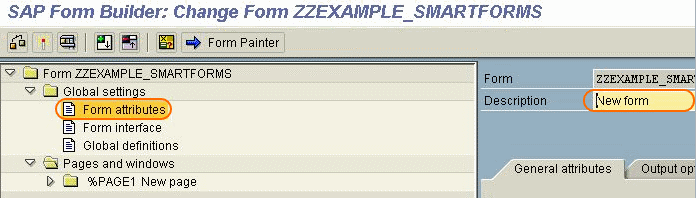 SAP ABAP Form builder