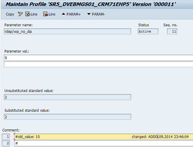 How to Create and Change Parameters (RZ10) - SAP Training Tutorials