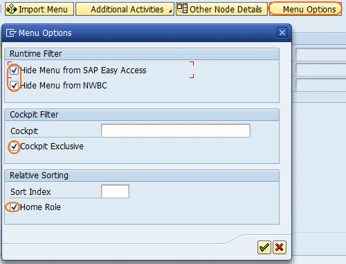 How to Create Composite Roles in SAP Security menu options