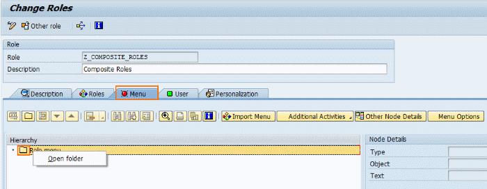 How to Create Composite Roles in SAP Security
