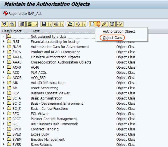 create authorization class