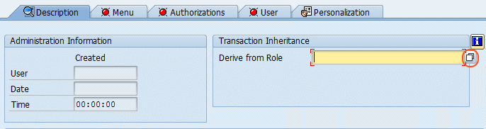 derive from role
