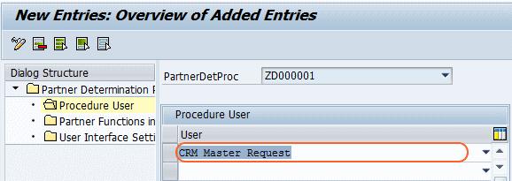 crm master request
