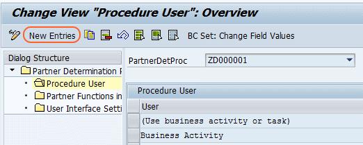 procedure user overview
