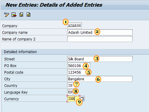 How to Create New Company in SAP