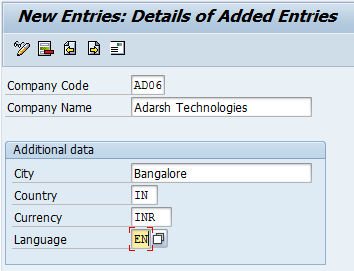 How to Define Company code in SAP