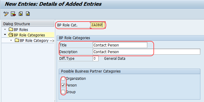 How To Define Business Partner Roles In Sap Crm Bp Roles