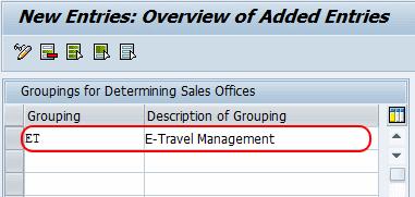 SAP Travel Request ESS