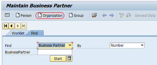 maintain organization buiness partners