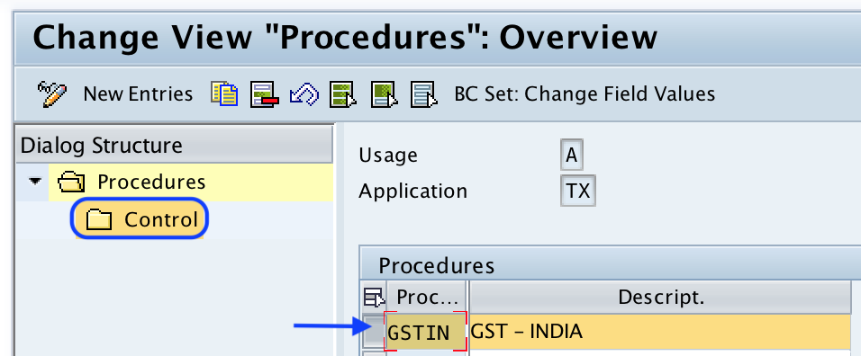Define Tax Calculation Procedure for GST in SAP - SAP